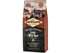 Carnilove Dog Adult Lamb & Wild Boar Grain Free jehněčí a divočák bez obilovin 12kg