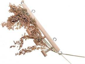 Hračka pták dřevo interaktivní - držák Karlie 1 ks