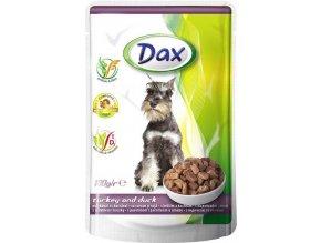 Dax kapsa DOG KRŮTA KACHNA 100g