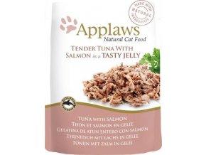 Applaws Cat kaps. tuňák a losos v aspiku 70 g