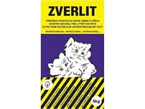 Podestýlka Cat Zverlit superjemná - tmavofialová 6 kg s vůní