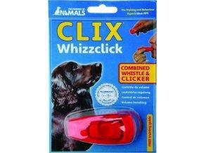 Tréninkový Clicker s píšťalkou Clix 1 ks