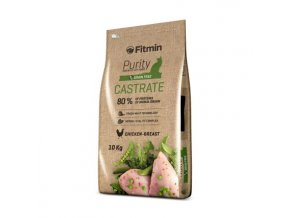 Fitmin cat Purity Castrate 10 kg