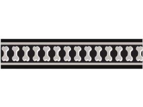 Obojek RD 25 mm x 41-63 cm - Bones Rfx - Černá