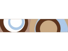Obojek RD 20 mm x 30-47 cm - Circadelic Brown