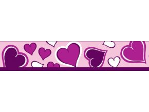Obojek RD 20 mm x 30-47 cm - Breezy Love Purple