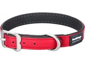 Obojek RD Elegant 12 mm x 20-25 cm - Červená