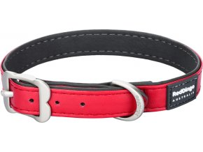 Obojek RD Elegant 15 mm x 24-30 cm - Červená