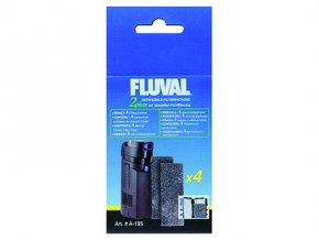 Náplň vata uhlíková FLUVAL 2 Plus 4ks