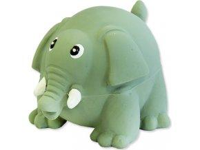Hračka DOG FANTASY Latex slon se zvukem 8 cm 1ks