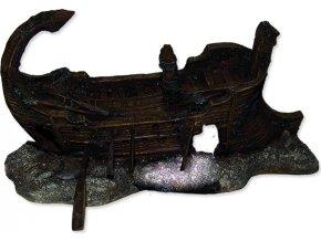 Dekorace AQUA EXCELLENT Torzo lodi 29,5 x 17 x 15,5 cm 1ks