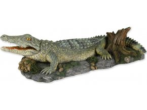 Dekorace TRIXIE krokodýl 26 cm 1ks