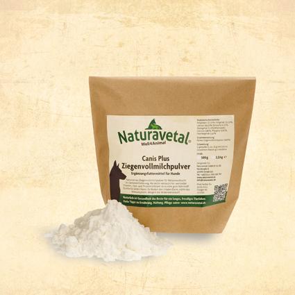 Naturavetal Canis Plus sušené plnotučné kozí mléko Balení: 500g