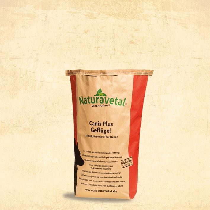 Naturavetal CANIS PLUS kuřecí maso a rýže Balení: 5kg