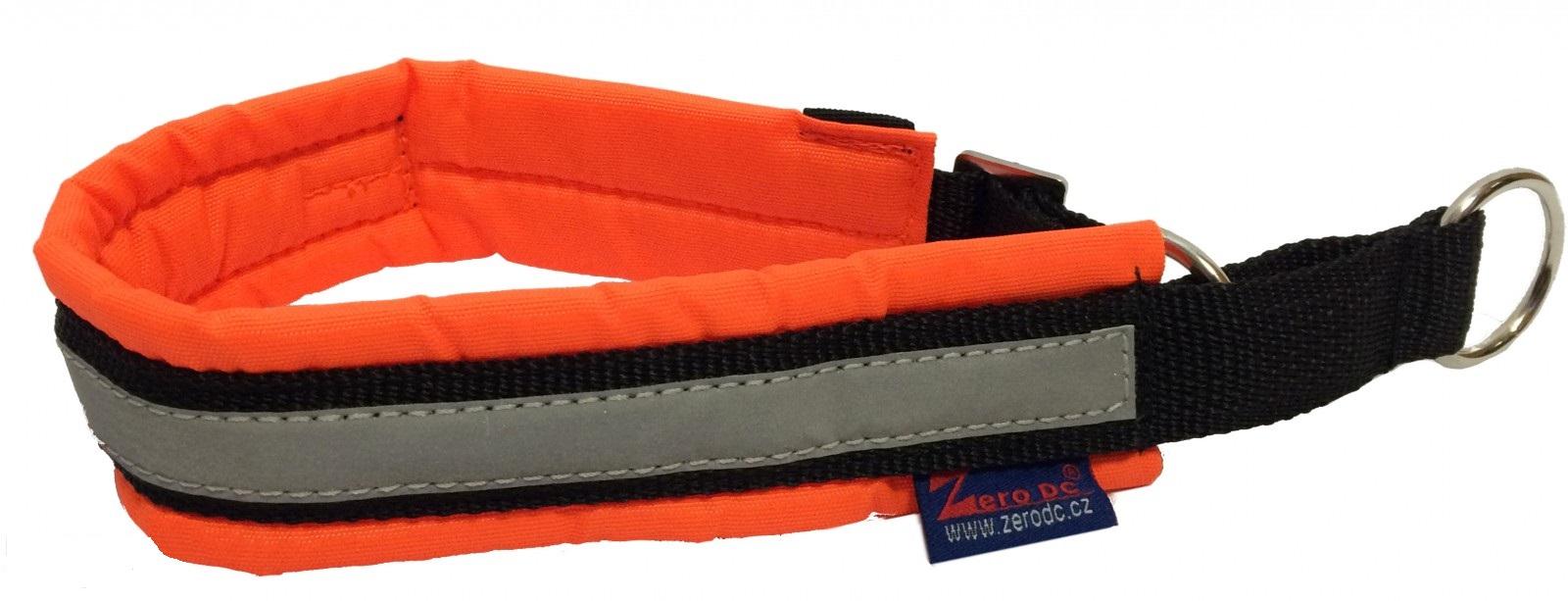 Zero DC Obojek BLIZARD neon,oranžový Rozměry: 55-60cm