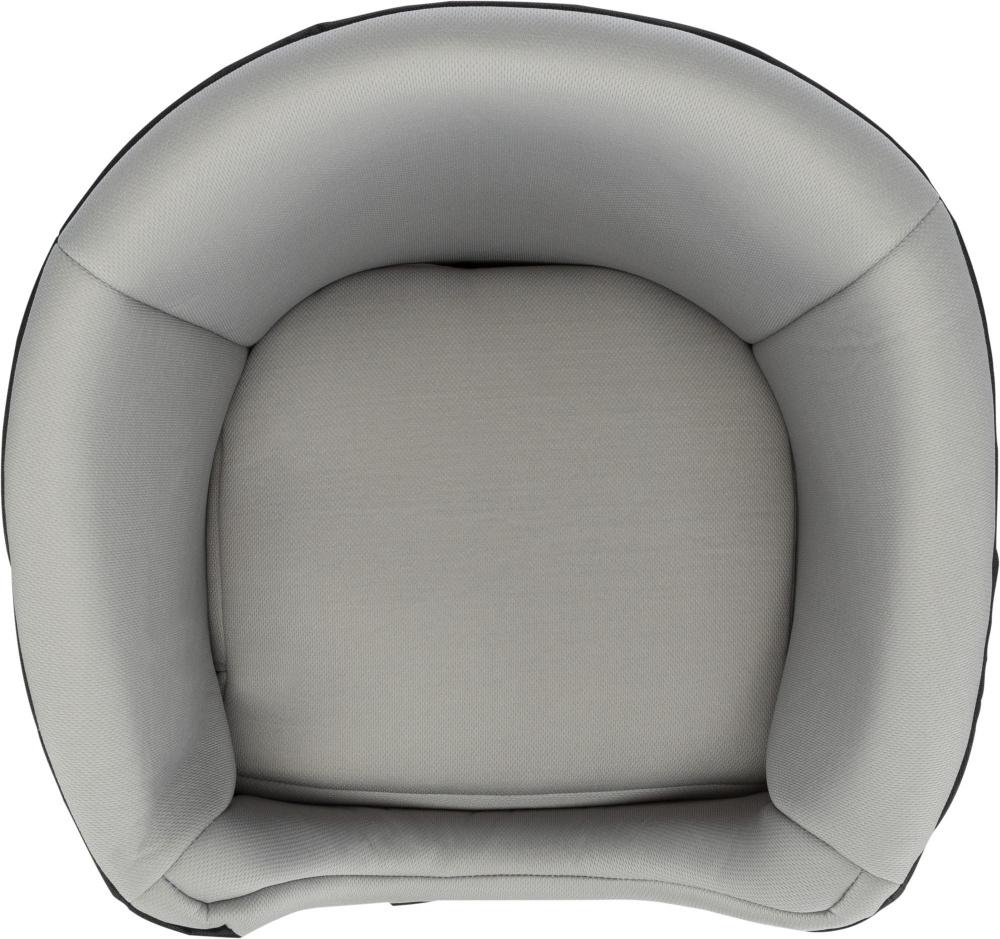 TRIXIE Autosedačka, stabilní s jemnou kožešinou,šedo/černá 41x39x42