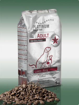 PLATINUM Natural Adult Lamb and Rice 5kg
