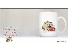 Hrnek - Hladová kočka