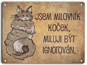 Mainka-milovník koček