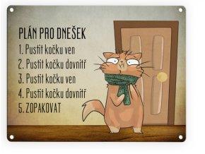 denní plán kocici