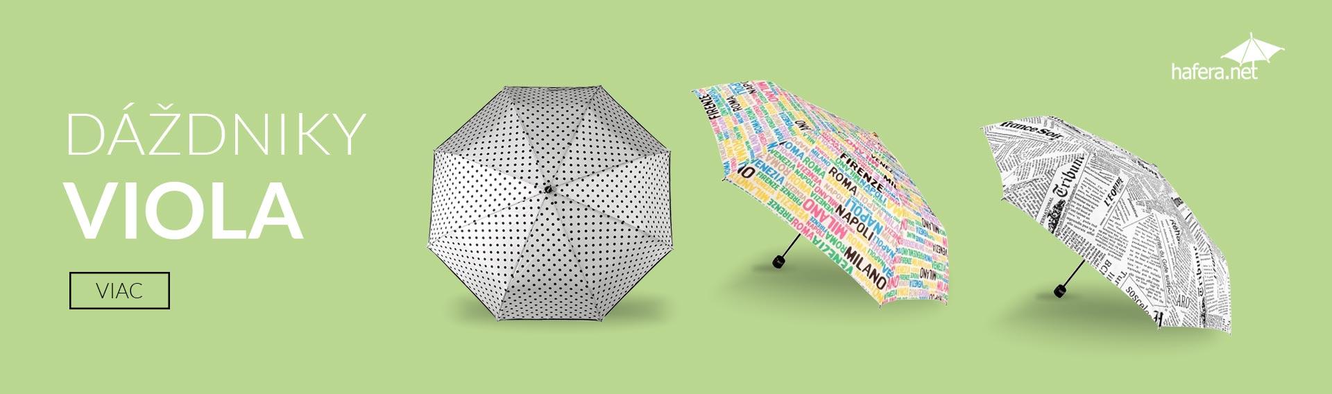 Dáždniky VIOLA