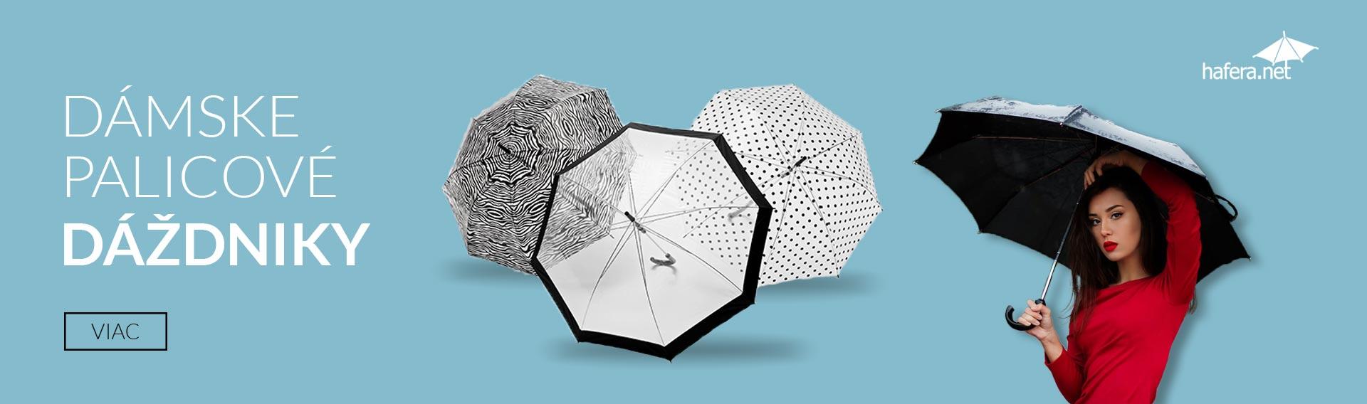 Dámske palicové dáždniky