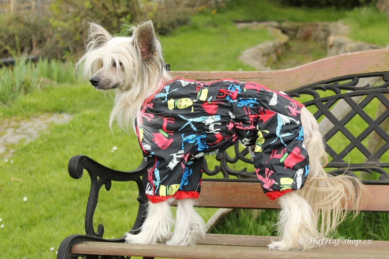 Obleček pro fenky – pláštěnka For My Dogs