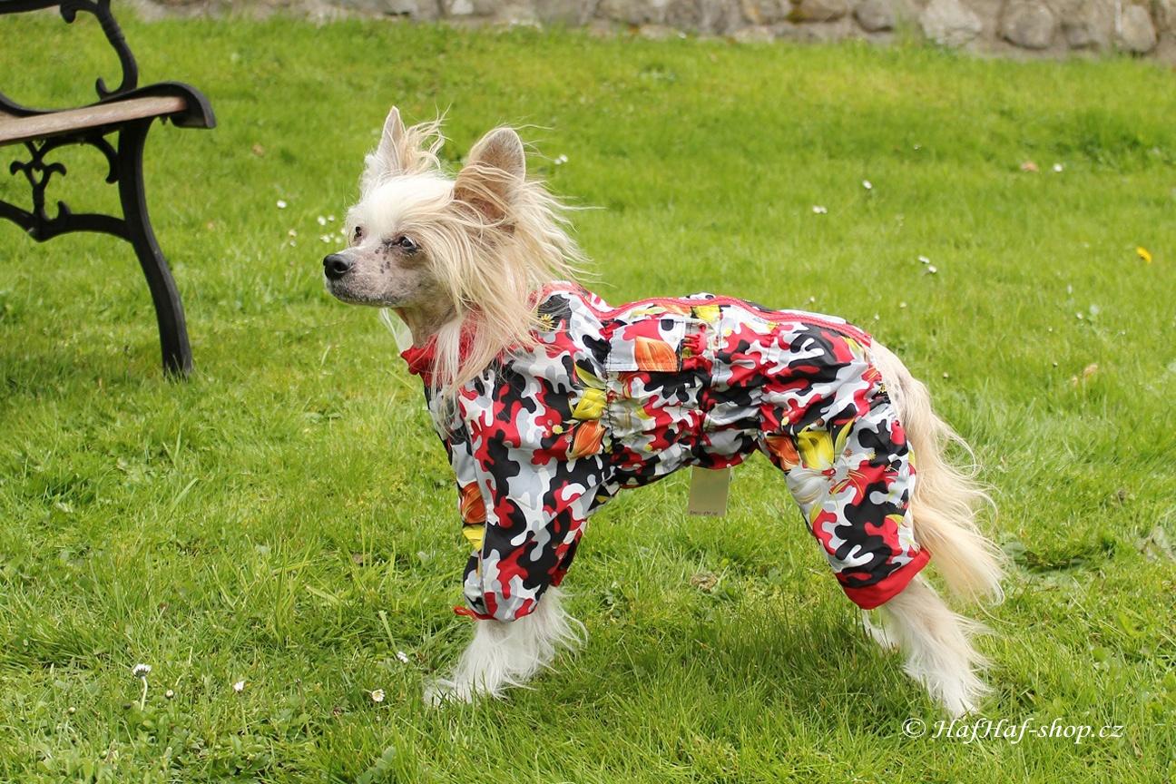 Obleček pro fenky – pláštěnka Camouflage