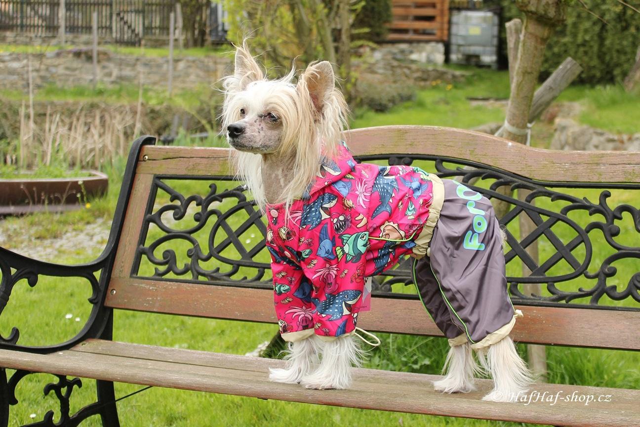 Obleček pro fenky – pláštěnka MARINE FANTASY