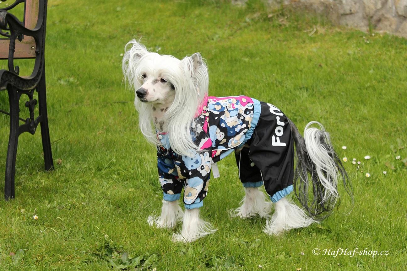 Obleček pro psy – multicolor pláštěnka