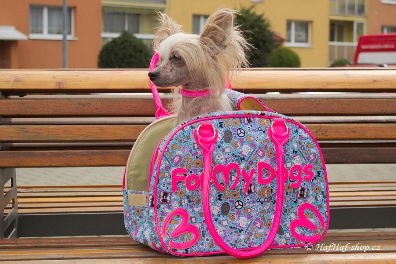 Luxusní kabelka na psa For My Dogs