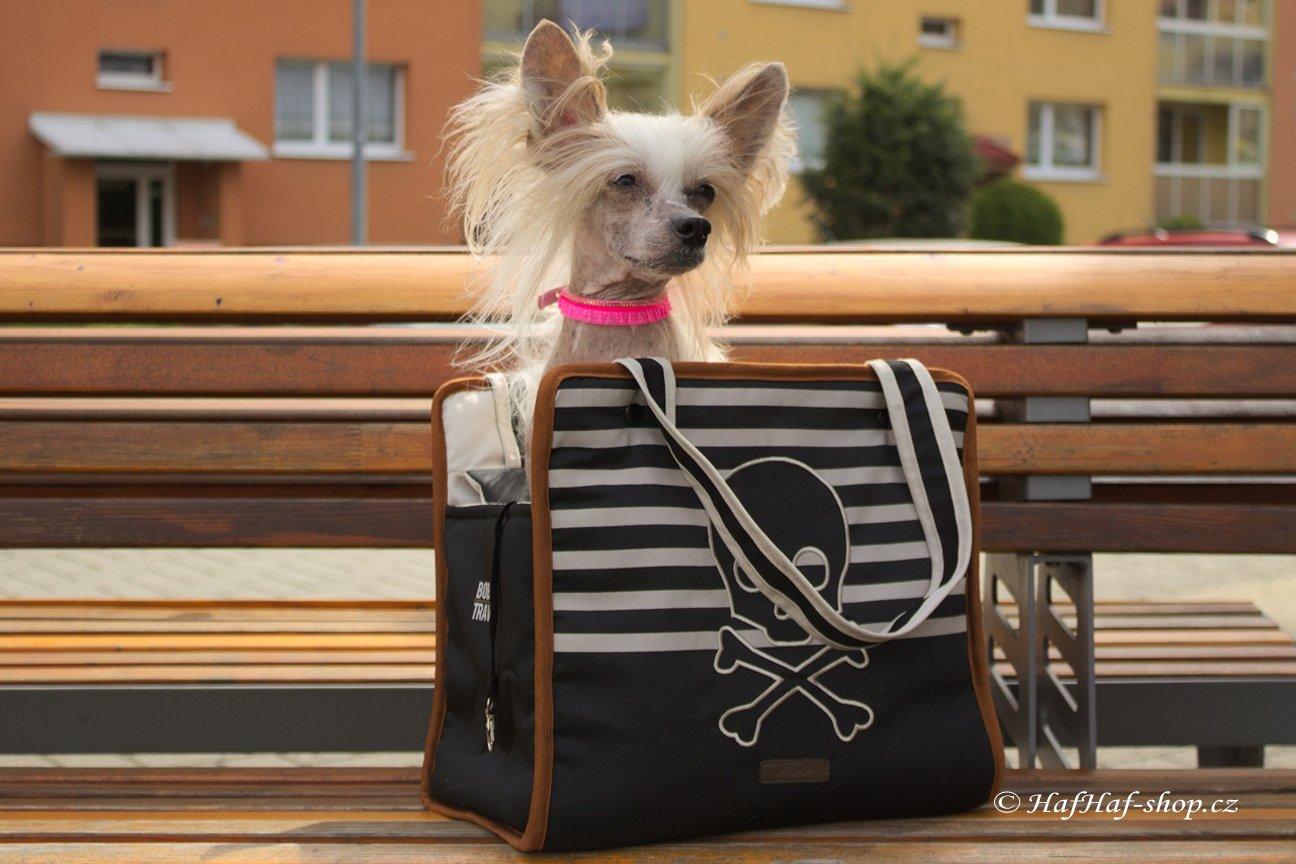 Taška na psa BOBBY Riviera – černá