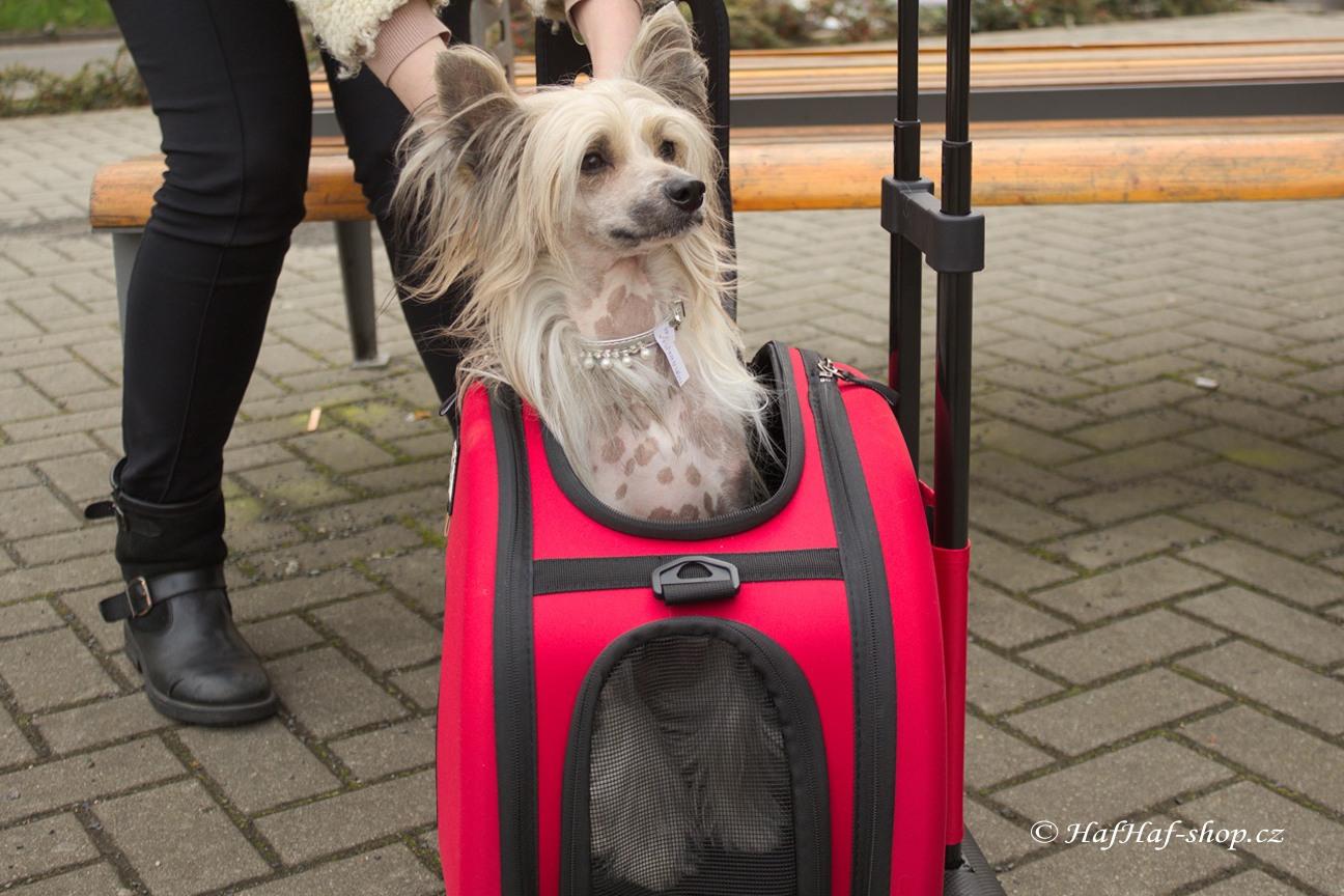 Taška pro psy na kolečkách od BOBBY