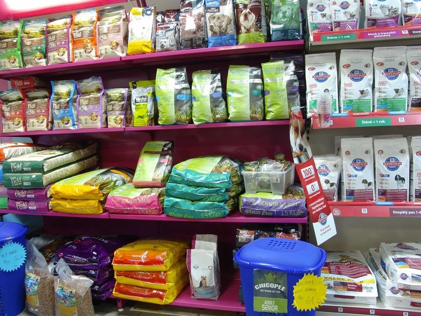 Kamenná prodejna Hafhaf-shop.cz – granule pro psy