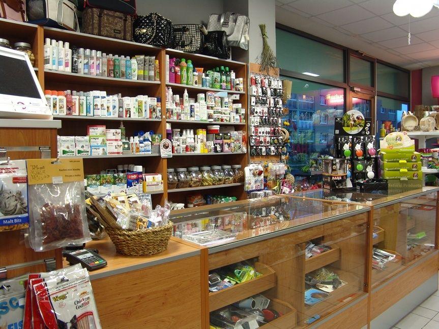 Kamenná prodejna Hafhaf-shop.cz – kosmetika pro psy a kočky