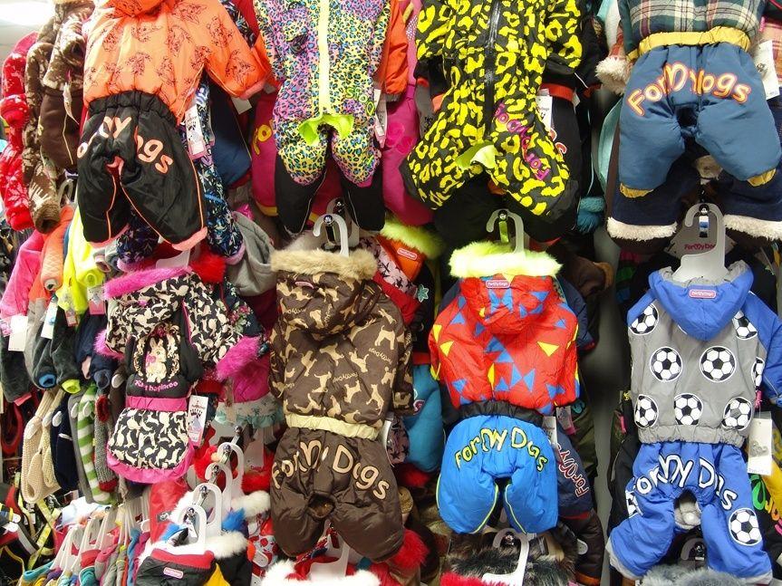 Kamenná prodejna Hafhaf-shop.cz – oblečky pro psy, detail