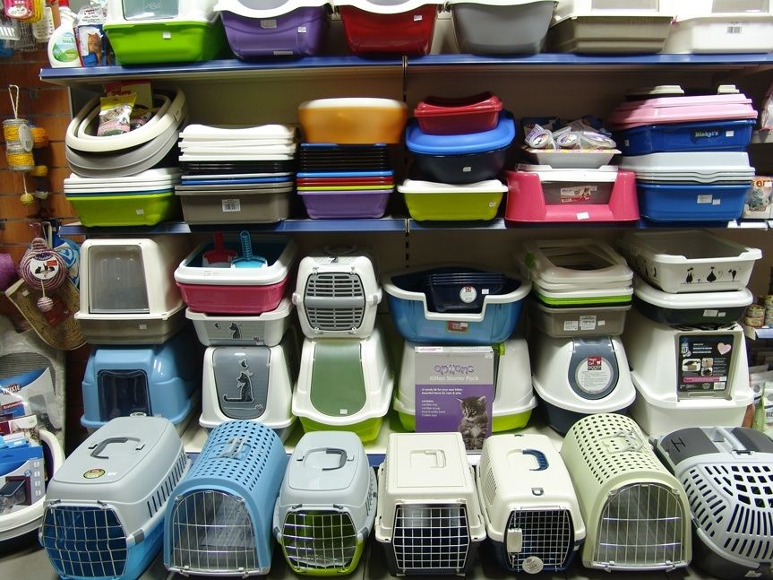 Kamenná prodejna Hafhaf-shop.cz – přepravky a kryté toalety pro kočky