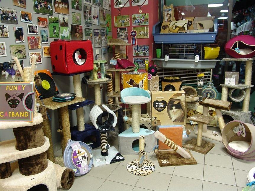 Kamenná prodejna Hafhaf-shop.cz – škrabadla a odpočívadla pro kočky