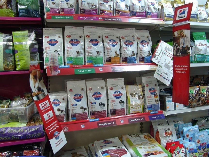 Kamenná prodejna Hafhaf-shop.cz – suché krmivo pro psy