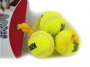 Míčky pro psy vhodné pro malá a TOY plemena s povrchem jako klasický tenisový míček (3)