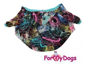 Obleček pro střední a větší psy i fenky – multicolor mikina (4)