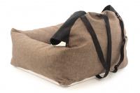 Autosedačka pro psy – pelíšek pro pohodlné cestování a ochranu autosedadel před psími chlupy, nečistotami a poškozením. Extra jednoduchá instalace, včetně polštářku. (5)