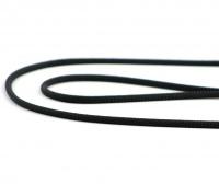 Extra kvalitní, v ČR ručně vyráběné vodítko pro malé a střední psy od TAMER. Pevná délka 1,45 m, tloušťka lanka 6 mm, karabina 6 cm. Barva černá. (4)