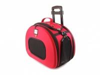 Luxusní cestovní taška pro psy na kolečkách
