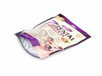 Polotvrdé dentální pamlsky pro psy s lososovou příchutí. Balení 160 g. (2)