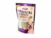 Polotvrdé dentální pamlsky pro psy s lososovou příchutí. Balení 160 g. (3)