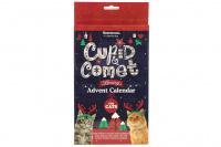 Adventní kalendář pro kočky ROSEWOOD LUXURY plný pochoutek ze sušeného masa – 24 políček, na každý den jedno. Balení 96 g.