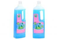Účinný hygienický čistič podlah s desinfekčním účinkem, který spolehlivě odstraní bakterie i nečistoty. Objem 1000 ml (2).