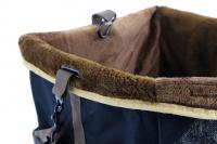 Autosedačka pro psy do auta CAMON WALKY pro pohodlné cestování a ochranu autosedadel před psími chlupy, nečistotami a poškozením. (10)