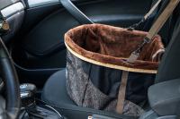 Autosedačka pro psy do auta CAMON WALKY pro pohodlné cestování a ochranu autosedadel před psími chlupy, nečistotami a poškozením. (FOTO 14)